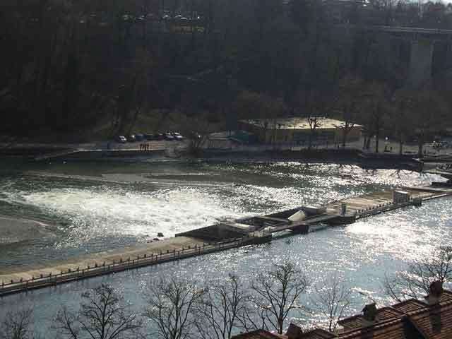 Плотина на реке Ааре