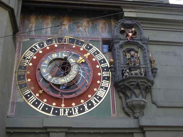 Часы на Zytglogge